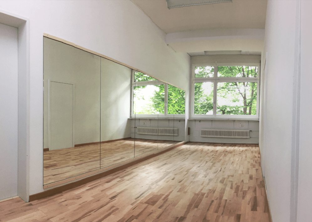 Backstage Studio: Dance studio 3, bright space