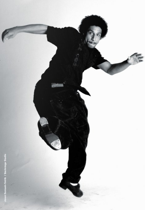 Backstage Studio: Jason Samuels Smith in a jump tap dancing