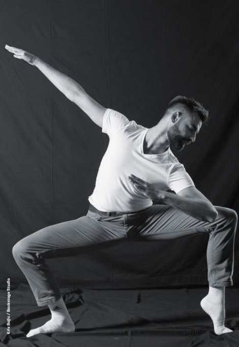 Backstage Studio: Kris Rajic in Tanzpose